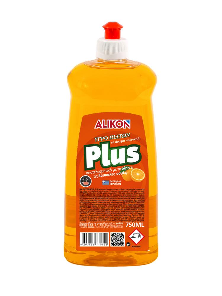 ΥΓΡΟ ΠΙΑΤΩΝ PLUS ΠΟΡΤΟΚΑΛΙ 750 ml