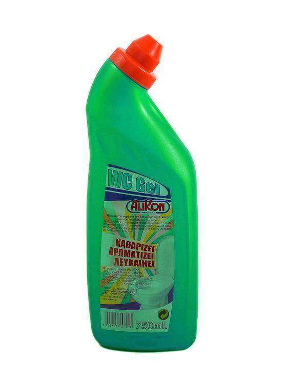 ΥΓΡΟ ΚΑΘΑΡΙΣΜΟΥ W.C. GEL GREEN FRESHNESS 750 ml